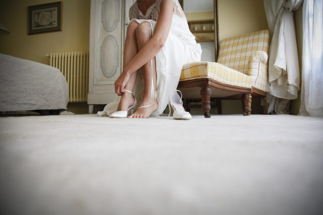 preparatif mariage chateau des barrenques