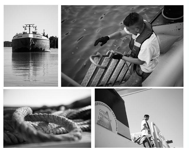 Reportage bateau école Montélimar